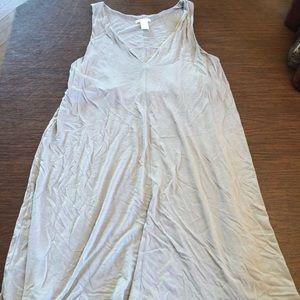 Tan summer dress
